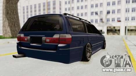 Nissan Stagea WC34 1996 pour GTA San Andreas sur la vue arrière gauche