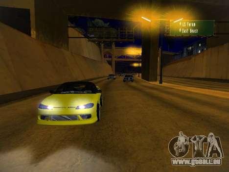 Nissan Silvia S15 für GTA San Andreas Räder