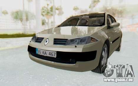 Renault Megane 2 pour GTA San Andreas