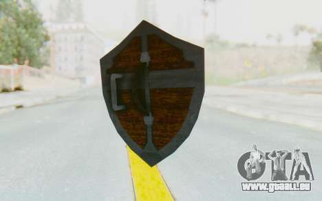 Hylian Shield HD from The Legend of Zelda pour GTA San Andreas deuxième écran