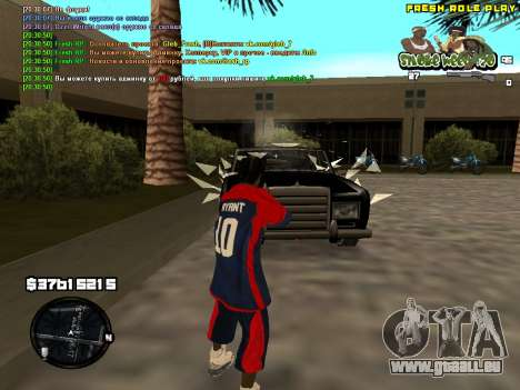 C-HUD Smoke Weed 420 für GTA San Andreas