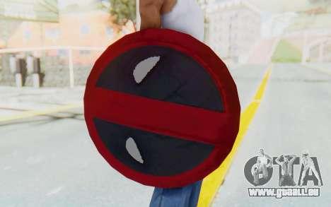 Deadpool Shield v2 für GTA San Andreas dritten Screenshot