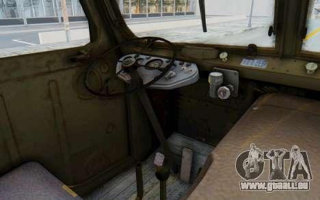 Praga V3S pour GTA San Andreas vue intérieure