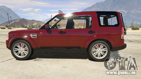 GTA 5 Land Rover Discovery 4 linke Seitenansicht