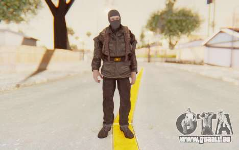 COD BO Russian Soldier Balaclava für GTA San Andreas zweiten Screenshot