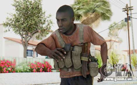 CoD MW3 Africa Militia v3 pour GTA San Andreas