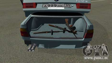 BMW 535i Gang für GTA San Andreas zurück linke Ansicht