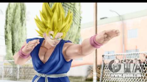 Dragon Ball Xenoverse Goku GT Adult SSJ2 pour GTA San Andreas