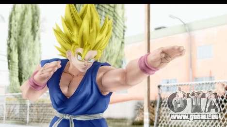 Dragon Ball Xenoverse Goku GT Adult SSJ2 pour GTA San Andreas