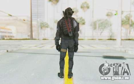 Federation Elite SMG Original pour GTA San Andreas troisième écran