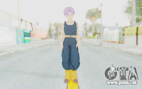 Dragon Ball Xenoverse Future Trunks Shirt für GTA San Andreas zweiten Screenshot