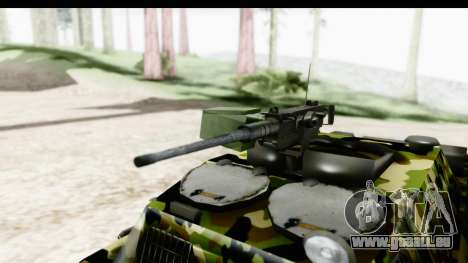BOV 86M Camo für GTA San Andreas Rückansicht