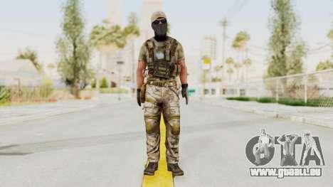 MOH Warfighter Grom Specops für GTA San Andreas zweiten Screenshot