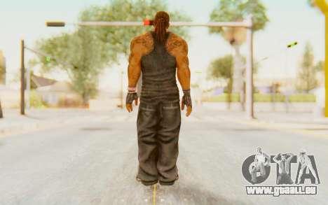 Def Jam Fight For New York - Busta Rhymes pour GTA San Andreas troisième écran