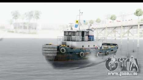 GTA 5 Buckingham Tug Boat v2 pour GTA San Andreas