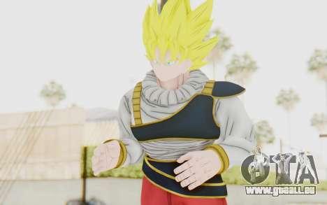 Dragon Ball Xenoverse Goku Yardrat Clothes SSJ pour GTA San Andreas