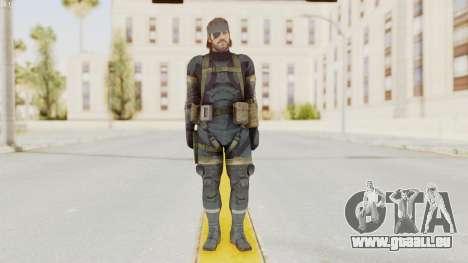 MGSV Phantom Pain Big Boss SV Sneaking Suit v1 für GTA San Andreas zweiten Screenshot