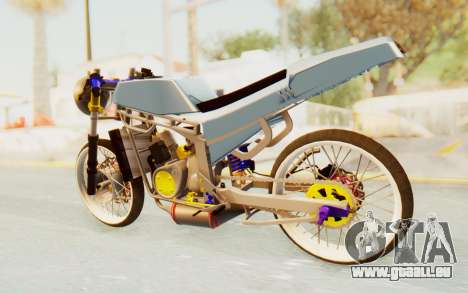 Kawasaki Ninja 150S Thailock pour GTA San Andreas laissé vue