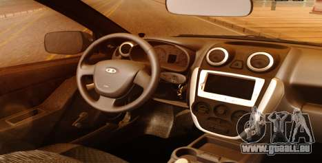 Lada Granta Liftback Beta v1 für GTA San Andreas rechten Ansicht