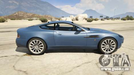 GTA 5 2001 Aston Martin V12 Vanquish linke Seitenansicht