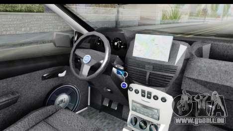 Fiat Punto Mk2 Policija pour GTA San Andreas vue de côté