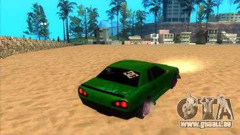 Elegy 1.3 by Mr.Phantom pour GTA San Andreas laissé vue