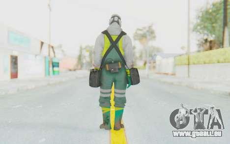 The Division Cleaners - Fumigator für GTA San Andreas dritten Screenshot