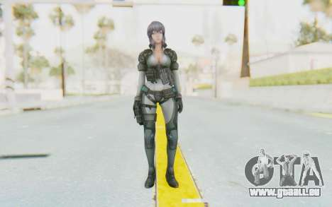 Ghost In The Shell First Assautl Motoko v2 pour GTA San Andreas deuxième écran