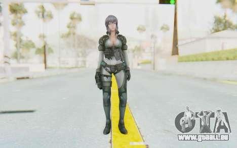 Ghost In The Shell First Assautl Motoko v2 pour GTA San Andreas deuxième écran