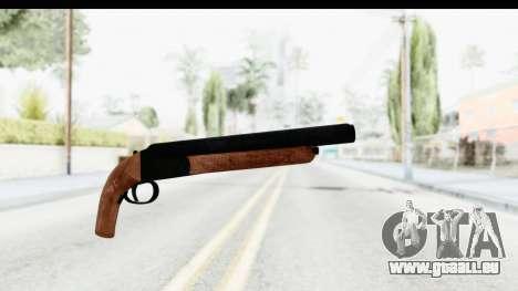GTA 5 Double Barrel Sawn-Off pour GTA San Andreas