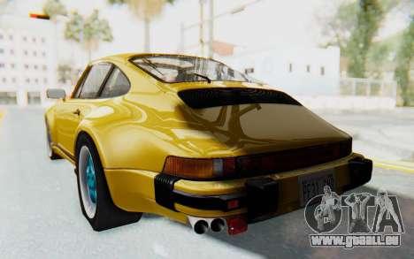 Porsche 911 Turbo 3.2 Coupe (930) 1985 für GTA San Andreas linke Ansicht
