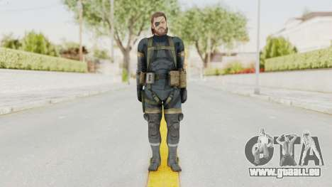 MGSV Phantom Pain Big Boss SV Sneaking Suit v2 für GTA San Andreas zweiten Screenshot