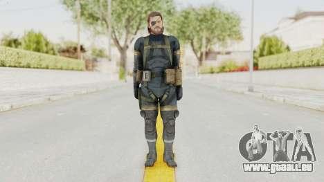 MGSV Phantom Pain Big Boss SV Sneaking Suit v2 für GTA San Andreas zweiten Screenshot