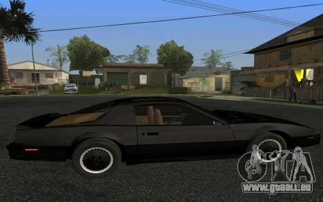 K.I.T.T. 2000 Pilot für GTA San Andreas linke Ansicht