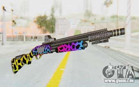 Escopeta pour GTA San Andreas deuxième écran
