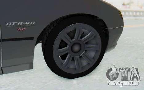 GTA 5 Imponte DF8-90 IVF pour GTA San Andreas vue arrière