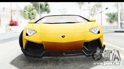 Lamborghini Aventador LP700-4 LB Walk pour GTA San Andreas