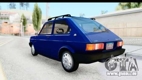 Fiat 147 Spazio TR Stock für GTA San Andreas linke Ansicht