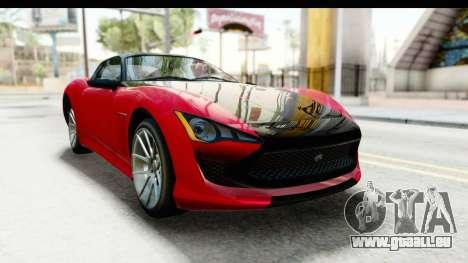 GTA 5 Lampadati Furore GT IVF für GTA San Andreas