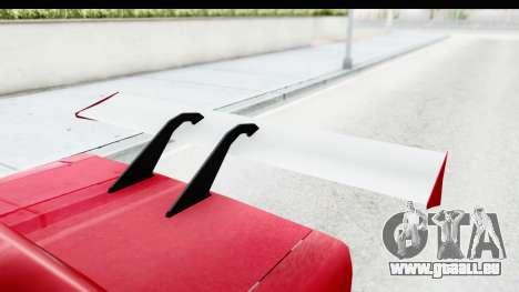 Greenwood Racing pour GTA San Andreas vue intérieure