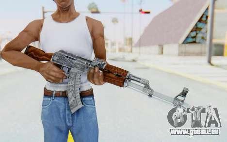 CS:GO - AK-47 Cartel für GTA San Andreas dritten Screenshot