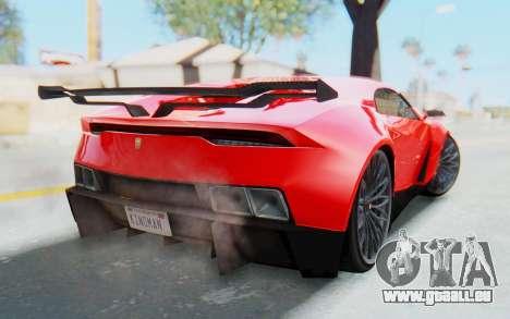 GTA 5 Pegassi Reaper IVF pour GTA San Andreas laissé vue