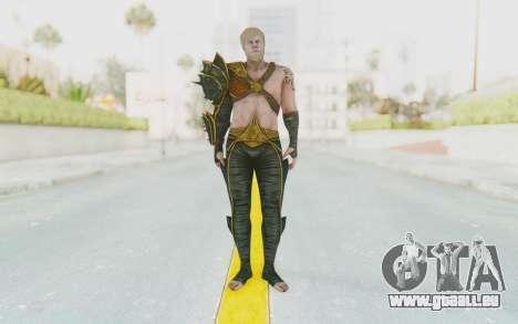 Injustice 2 - Aquaman pour GTA San Andreas deuxième écran