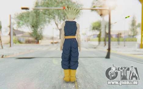 Dragon Ball Xenoverse Future Trunks Shirt SSJ pour GTA San Andreas troisième écran