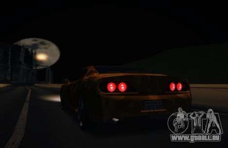 Camo. pour GTA San Andreas sur la vue arrière gauche
