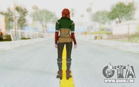 The Witcher 3 - Triss Merigold Default für GTA San Andreas dritten Screenshot