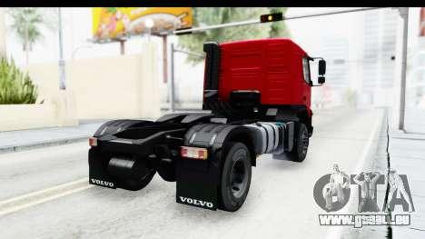 Volvo FMX Euro 5 v2.0 pour GTA San Andreas laissé vue