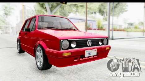 Volkswagen Golf Citi 1.8 1998 für GTA San Andreas rechten Ansicht