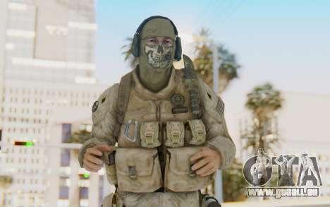 CoD MW2 Ghost Model v1 pour GTA San Andreas