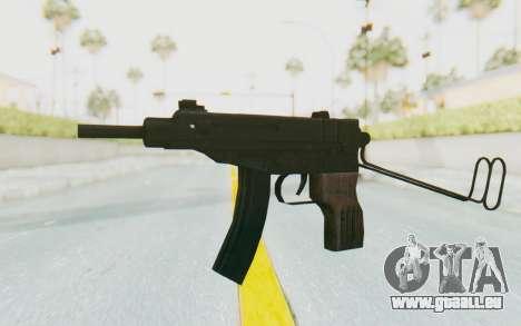 VZ-61 Skorpion Unfold Stock für GTA San Andreas zweiten Screenshot
